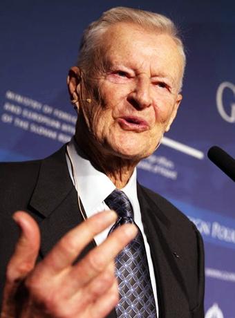 Brzezinski es uno de los mayores elitistas y asiduo asistente a las reuniones del Grupo Bilderberg