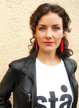 Astrid Menasanch Tobieson, directora y dramaturga, miembro del grupo de teatro Stå! Gerillan