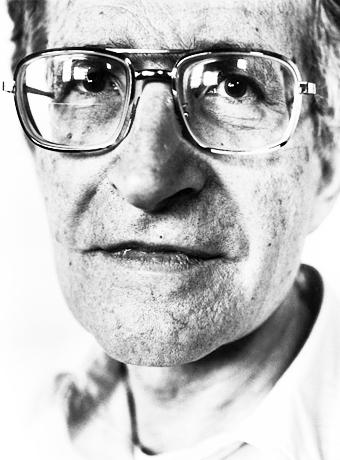 El archí reconocido filósofo estadounidense, Noam Chomsky